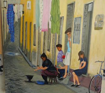scene de vie Portugal