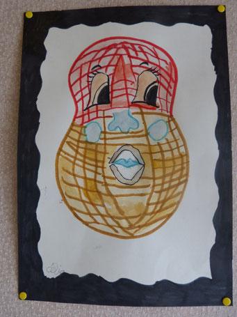 cacahuette dessin de Célia