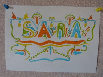 création de Sara