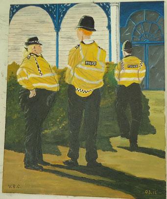 Policier anglais
