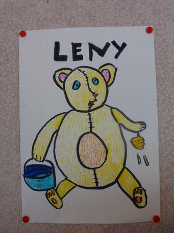 L'ours gourmand de Lenye