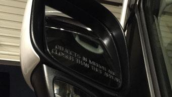 35:ドアミラーステッカー