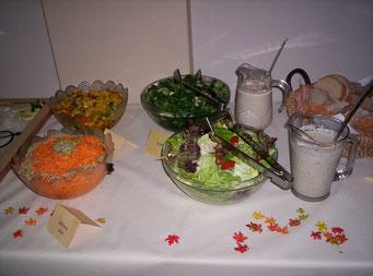 Salat Auswahl