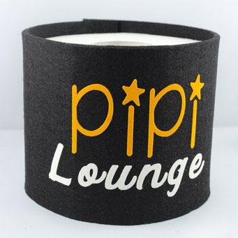Klopapier-Manchette Pipi Lounge