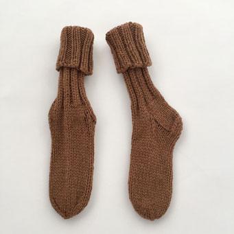 hand knitted Socks - 100 % Super Fine Lamb´s Wool - handgestrickte Socken