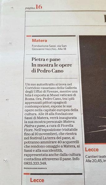 La Repubblica di Bari, 26 ottobre