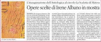 Il Quotidiano della Basilicata 13 novembre 2014