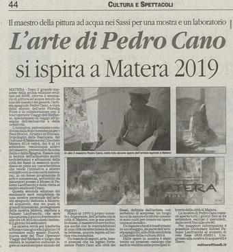Il Quotidiano della Basilicata, 5 settembre 2013