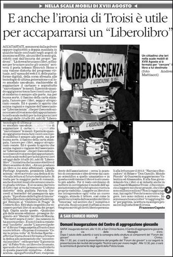 Il Quotidiano della Basilicata, 6 gennaio 2012