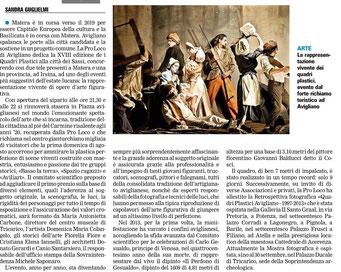 La Gazzetta del Mezzogiorno 3 agosto 2014