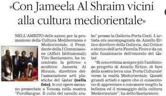 Il Quotidiano della Basilicata, 22 marzo 2015