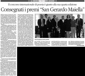 Il Quotidiano della Basilicata, 18 luglio 2012