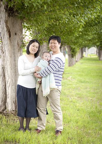 家族記念 ロケーションフォト