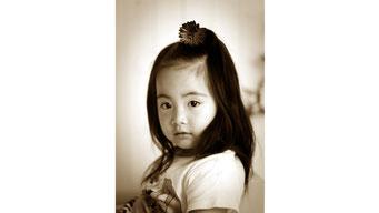 記念写真 女の子