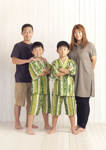記念写真 家族写真