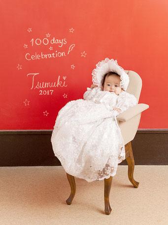 百日 ドレス