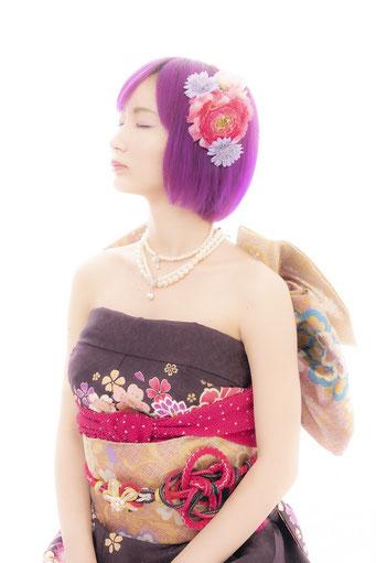 ジャパネスクドレス
