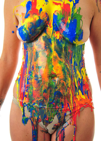 Foto: Andreas Ender, photo-art+painting | BODYpainting 2018 - 50x70cm - Edition of 5