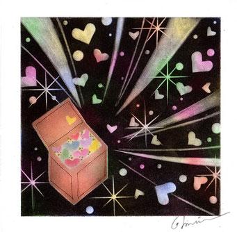 夢の宝石箱、パステル和アート、ヒーリングハーツ熊本