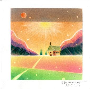 パステル和アート、Start Line ヒーリングハーツ熊本