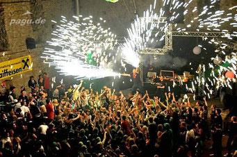 DJ Tomix Feuershow