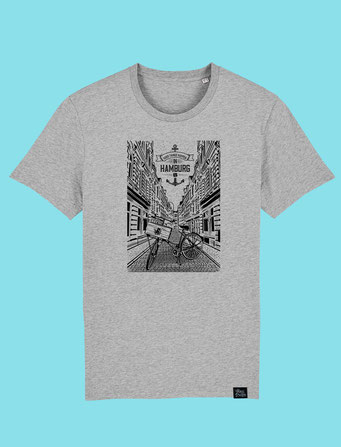 Beckstrasse - Men's classic T-shirt - Grey