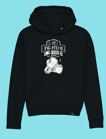 Keep Fighting - Women's hooded Sweatshirt