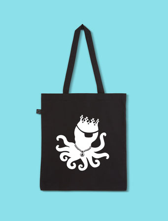 Pulpo Silhouette - Classic Shopping Tote Bag