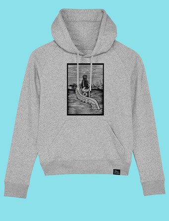 Pulpo Harbour - Women's hooded Sweatshirt