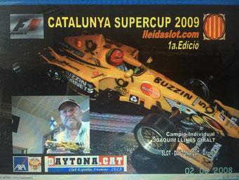 F1 CAT 2009 - Campió JOAQUIM LLINÀS GIRALT