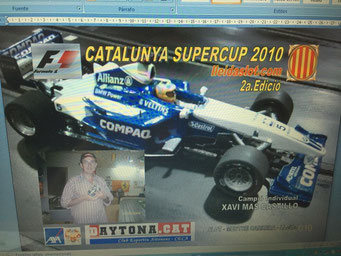F1 CAT 2010 - Campió XAVI MAS CASTILLO