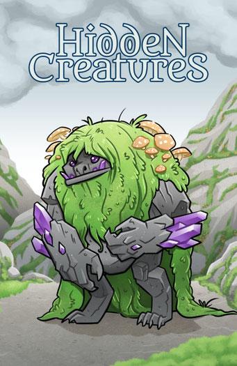 Nature.Impulse - Hidden Creatures Geocaching Summer Challenge Souvenir Troll