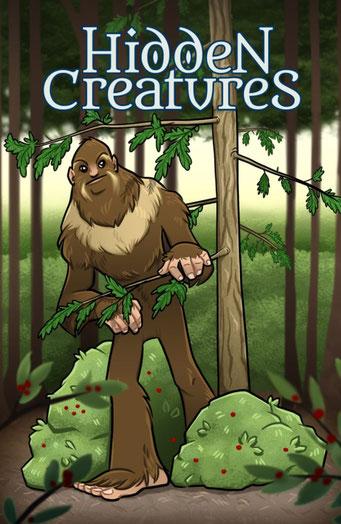 Nature.Impulse - Hidden Creatures Geocaching Summer Challenge Souvenir Bigfood