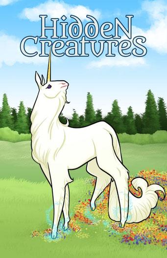 Nature.Impulse - Hidden Creatures Geocaching Summer Challenge Souvenir Unicorn