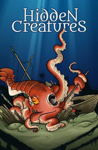 Nature.Impulse - Hidden Creatures Geocaching Summer Challenge Souvenir Kraken