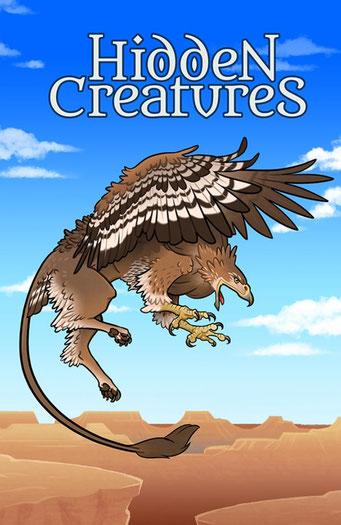 Nature.Impulse - Hidden Creatures Geocaching Summer Challenge Souvenir Gryphon