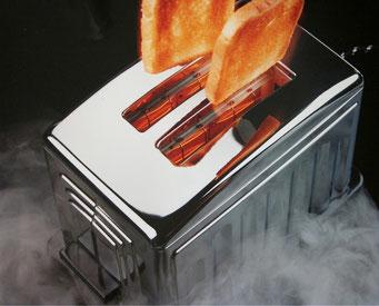 Werbung Toaster