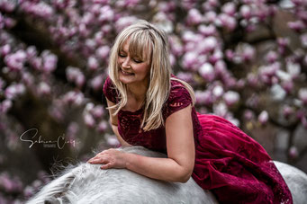 Blütenshooting Pferd