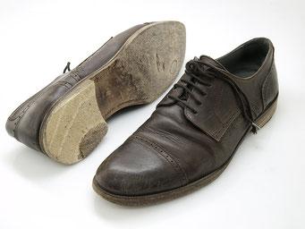 Schuhreparatur vorher
