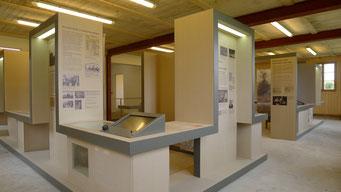 Blick in die Ausstellung. Andreas Ehresmann, 30.4.2013