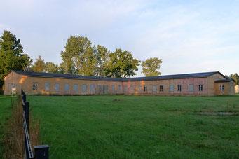 Blick auf die ehemalige Lagerküche nach der Sanierung. Foto: Andreas Ehresmann, 19.7.2015
