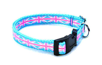 Hundehalsband Hund Halsband Gurtband Borte Webband Alu Steckschließe Handarbeit Pinterest Dawanda Handarbeit DIY FLagge America