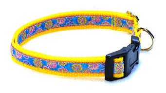 Hundehalsband Hund Halsband Gurtband Borte Webband Alu Steckschließe Handarbeit Pinterest Dawanda Handarbeit DIY BLumen
