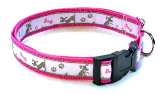 Hundehalsband Hund Halsband Gurtband Borte Webband Alu Steckschließe Handarbeit Pinterest Dawanda Handarbeit DIY Idefix Comic