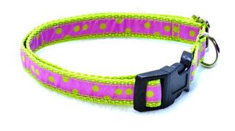 Hundehalsband Hund Halsband Gurtband Borte Webband Alu Steckschließe Handarbeit Pinterest Dawanda Handarbeit DIY Punkte
