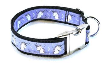 Hundehalsband Hund Halsband Gurtband Borte Webband Alu Steckschließe Handarbeit Pinterest Dawanda Handarbeit DIY Einhorn