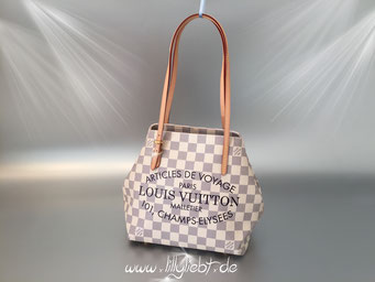 Louis Vuitton Damier Azur Cabas Adventure PM