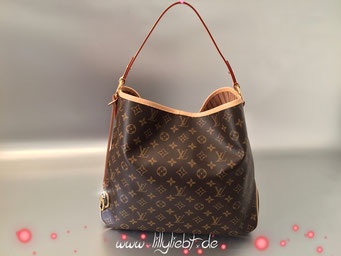Louis Vuitton Monogram Canvas Delightful MM NM