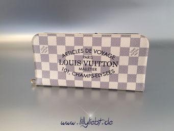 Louis Vuitton Damier Azur Summer 2014 Articles de Voyage Insolite Geldbörse
