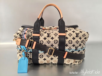 Louis Vuitton Monogram Cheche Tuareg in Blau